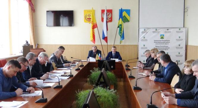 Заседание Собрания депутатов Комсомольского района