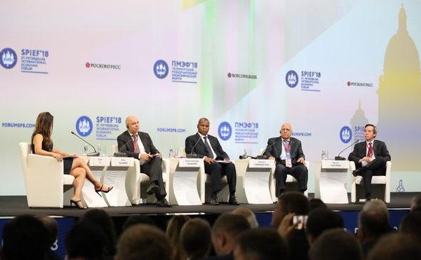 Состоялась торжественная церемония открытия Петербургского международного экономического форума