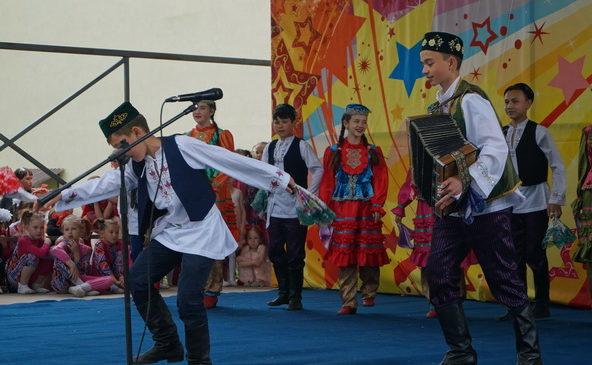 В Комсомольском районе — праздник, посвященный Международному дню защиты детей