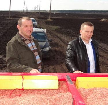 В Комсомольском районе приступили к весеннему севу