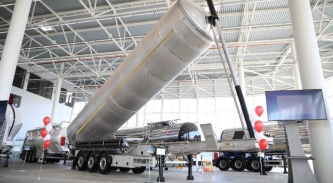 Открылось производство танк-контейнеров ЗАО «ЧП «Сеспель»
