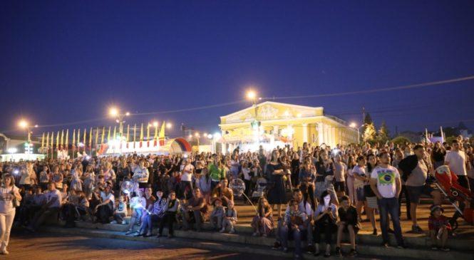Состоялось открытие XI Международного фестиваля фейерверков