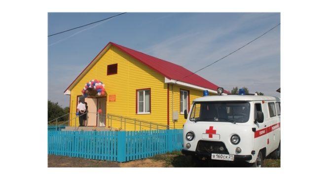В селе Токаево  начато строительство ФАПа  Версия для печати 10:15 21 июня 2018 г.