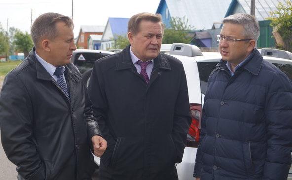 С рабочим визитом у нас побывал министр транспорта Чувашской Республики