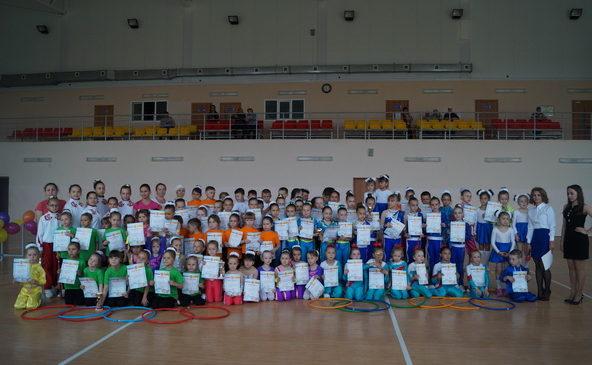 Открытый фестиваль детского спорта по фитнес-аэробике «Дети-наше будущее