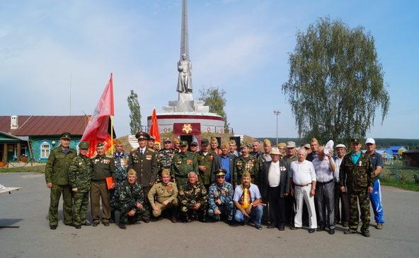 На мероприятии, посвященной ко Дню вывода Советских войск из Германии
