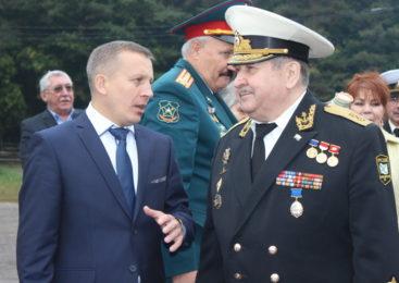 Владислав Ильин прибыл в Комсомольский район