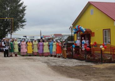 Открытие ФАП в селе Токаево