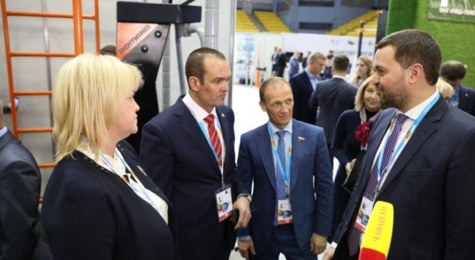 Глава Чувашии Михаил Игнатьев в Ульяновске провел деловые встречи