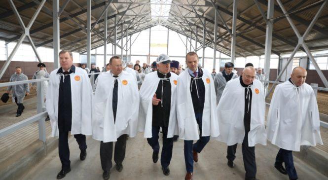 Глава Чувашии Михаил Игнатьев с рабочим визитом посетил Вурнарский район