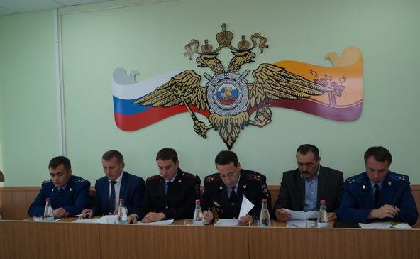 Подведение итогов МО МВД России «Комсомольский» за 9 месяцев и задачи на 4 квартал 2018 года