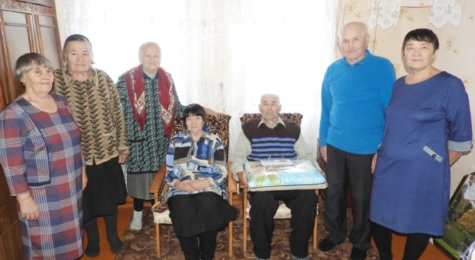 90-летний юбилей отметил  Мамуткин Николай Борисович