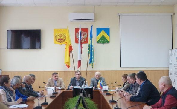 Совещание председателей Совета ветеранов первичных организаций района