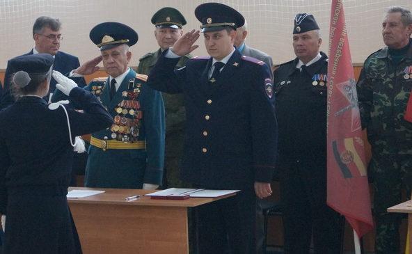 Комсомольские кадеты приняли присягу