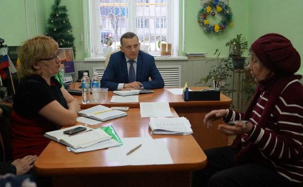 «Горячая линия» с главой администрации Комсомольского района