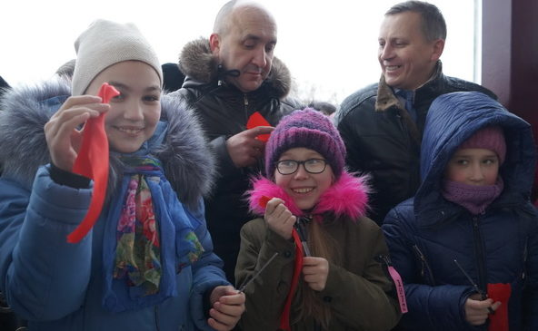 Комсомольском районе открыт сельский Дом культуры