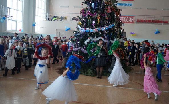 Детская новогодняя  Ёлка главы администрации района