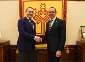 Рабочая встреча Главы Чувашии и первого заместителя Министра транспорта РФ