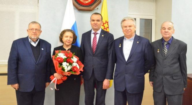 Михаил Игнатьев вручил награды сотрудникам Российской академии наук