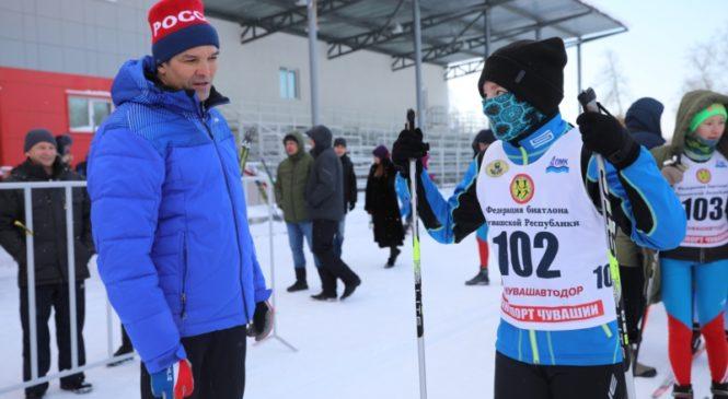 Состоялись лыжные соревнования «Рождественская гонка»