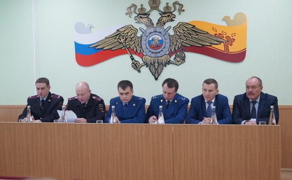 Подведение итогов работы МО МВД России «Комсомольский»