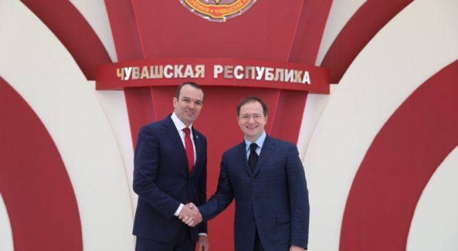 Состоялась рабочая встреча Михаила Игнатьева и Владимира Мединского