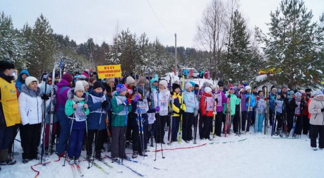 «Лыжня России- 2019» на лесной опушке