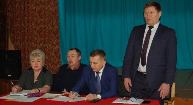 Глава администрации  района А.Н. Осипов встретился с жителями деревень Байбахтино и Новое Бикмурзино