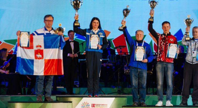 Команда Чувашии заняла третье место на Всероссийских зимних сельских играх в Тюмени