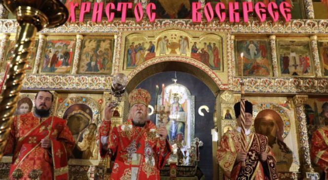 Глава Чувашии Михаил Игнатьев принял участие в Пасхальном богослужении
