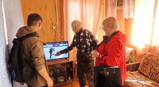 В  районе ведется активная работа по переходу на цифровое телевидение