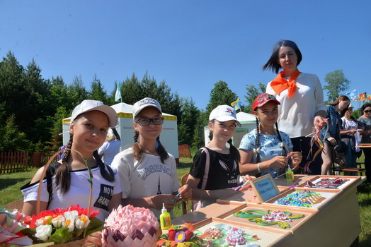 В Батыревском районе проведен традиционный праздник — детский «Акатуй- Сабантуй»