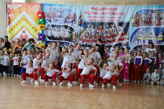 Открытый фестиваль детского спорта по фитнес-аэробике «Дети — наше будущее»