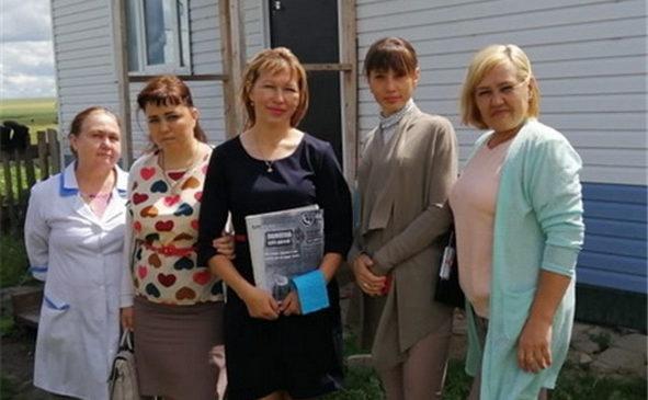 Очередной профилактический рейд прошел в Комсомольском и Сюрбей-Токаевском сельских поселениях