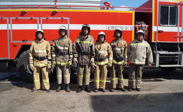 В Комсомольском районе прошли республиканские соревнования по пожарно-спасательному спорту среди обособленных подразделений КУ «ЧРПС» МЧС Чувашии