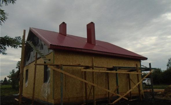Продолжается строительство фельдшерско-акушерского пункта в д. Полевые Инели