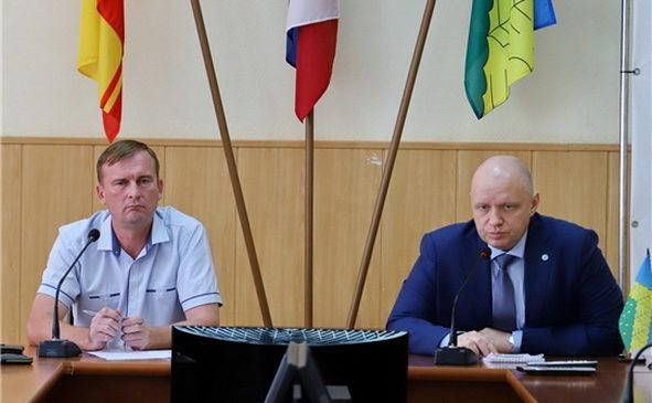 В Комсомольском районе прошло рабочее совещание по вопросу обращения с ТКО