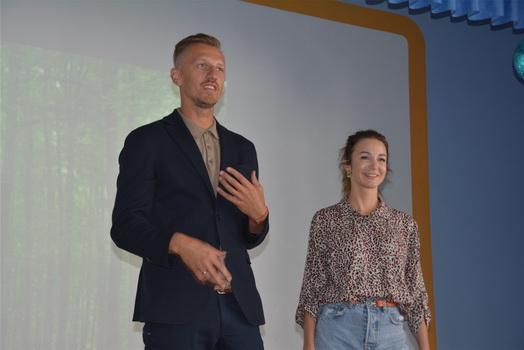 Ведущие Первого канала провели мастер-класс для журналистов Чувашии