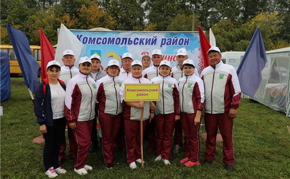 Состоялся летний этап Спартакиады государственных и муниципальных служащих Чувашии