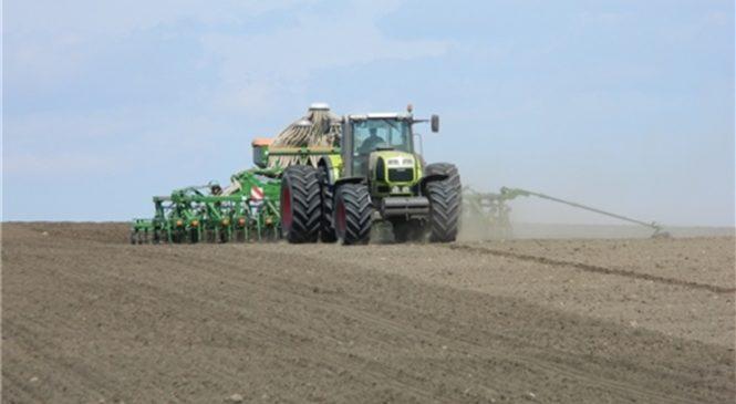 В республике засеяно более 90% площадей яровых зерновых и зернобобовых культур
