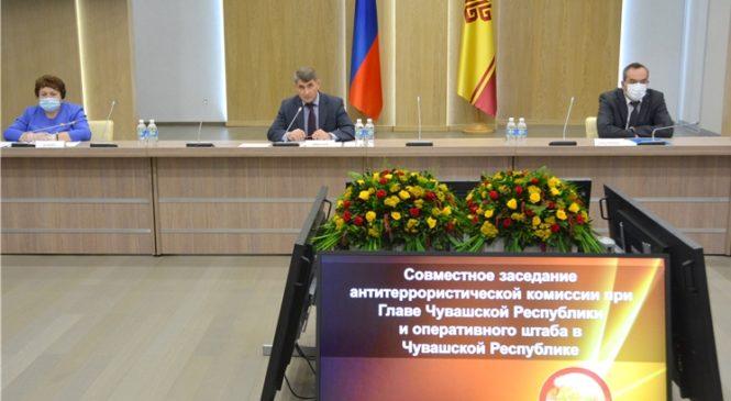 Врио Главы Чувашии Олег Николаев поставил задачу завершить получение паспортов безопасности гостиниц и торговых объектов