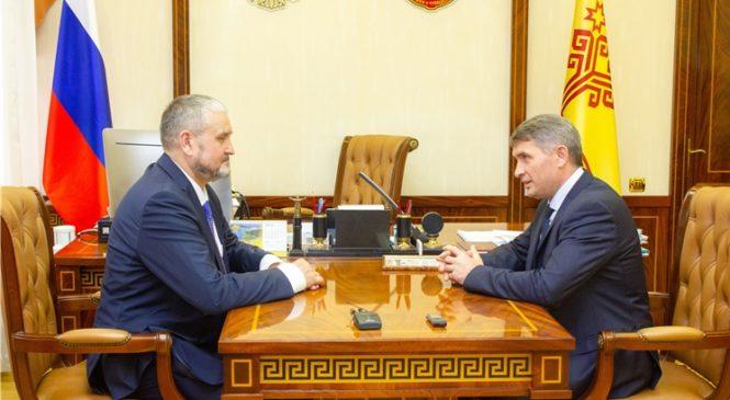 Олег Николаев выразил заинтересованность в развитии сотрудничества с Республикой Коми