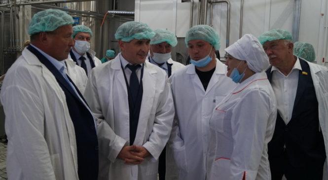 Комсомольский район посетил врио Главы Чувашии Олег Николаев