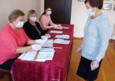 В  районе началось голосование по выборам Главы Чувашской Республики и депутатов  местного самоуправления