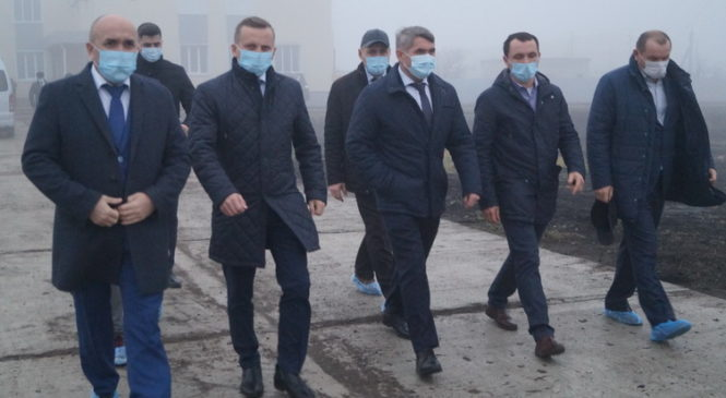 Олег Николаев посетил ООО Агрофирма «Слава картофелю»