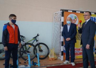 Открытие  отделения велосипедного спорта