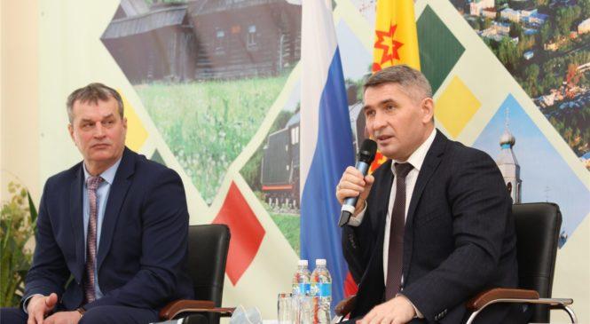 Олег Николаев: весь ущерб от строительства трассы М-12 в районах республики должен быть возмещен