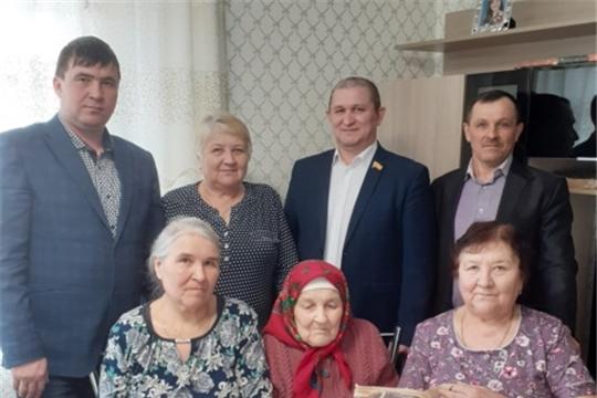 Карсаковой Ефросинии Михайловне из д. Степные Шихазаны исполнилось 95 лет