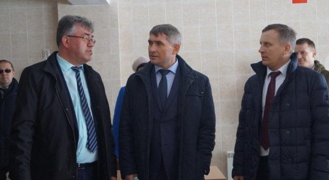 Глава Чувашии Олег Николаев посетил Комсомольский район