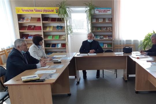 Состоялось заседание Общественного совета Комсомольского района Чувашской Республики